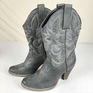 Very Volatile Women's sz 8.5 Denver Boots Western